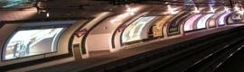 Techex y Tecnon dan vida a la estación de Chamberí 40 años después