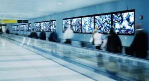 Digital Signage de C-nario en el Aeropuerto JFK
