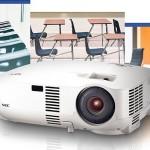 NEC Display Solutions incrementa la duración de lámparas y filtros en sus proyectores