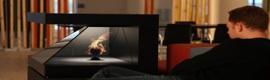 Realfiction seduce con su tótem holográfico Dreamoc