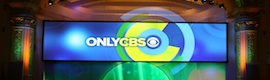 Only CBS, espectacular montaje visual con Watchout de Dataton