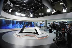 Nuevo plató de Antena 3 Noticias (Foto: Antena 3)