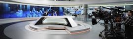 Espectacular muro visual en los nuevos informativos de Antena 3