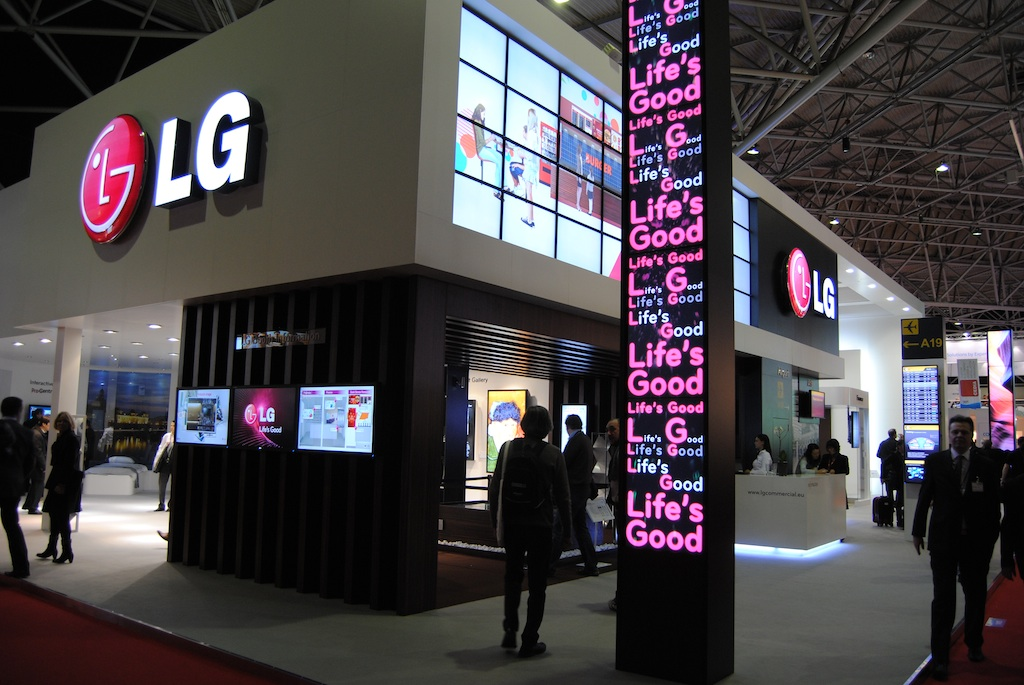 Lg Presents Its Latest Innovations In Digital Signage At Ise
