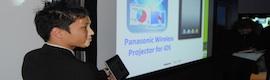 Panasonic eleva la interactividad en pantalla de gran formato a otro nivel en ISE 2011