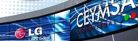 Ceymsa cierra un acuerdo con LG Electronics para el sector profesional