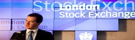 Christie MicroTiles on the London Stock Exchange