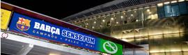 El FC Barcelona inicia una campaña sin humo en la publicidad dinámica del Camp Nou
