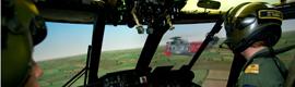 La RAF elige los proyectores Christie Matrix StIM para el sistema de simulación de la Estación Aérea de Valley
