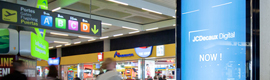 JCDecaux installed new stands digital in the airport of Palma de Mallorca