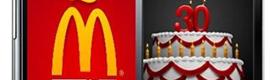 McDonald's celebra su 30 cumpleaños con una app de realidad aumentada