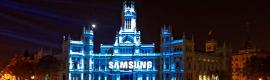 La Navidad arranca en Madrid con un espectáculo en 4D proyectado sobre la fachada del Palacio de Cibeles