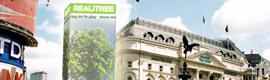 REALiTREE, árboles virtuales en los centros urbanos que medirán la salud del medio ambiente