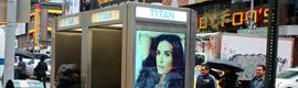 Titan desarrolla unas novedosas cabinas telefónicas con publicidad dinámica