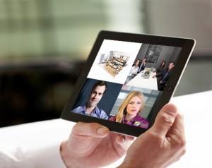 Videoconferencia iPad