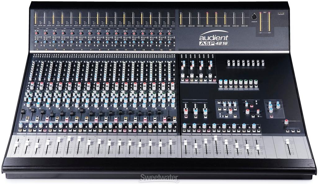 Audient lanza la nueva consola de mezclas asp4816 for Media markt mesa de mezclas