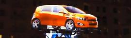 """Chevrolet monta un mapping 3D interactivo """"de récord"""" para promocionar su nuevo coche"""