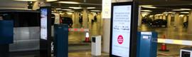 DIDChannel suministra la primera solución de digital signage para un parking en España