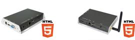Los nuevos dispositivos web HTML5 de IAdea unifican los formatos de contenido de digital signage