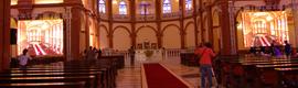 Gran despliegue de medios de IEC en Guinea para la cobertura de la consagración de una basílica