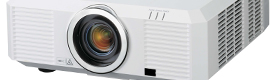 Mitsubishi Electric presented at ISE 2012 the new 7000 series of installation projectors