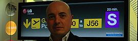 """Francisco Ramírez (LG): """"La capacidad de crecimiento del mercado de digital signage en 2012 es espectacular"""""""