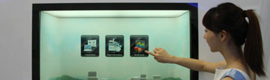 Samsung Expands its market of transparent LCD screens