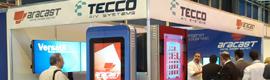 Tecco exhibirá en ISE 2012 su nueva gama de tótems y el renovado gestor de contenidos AraCast