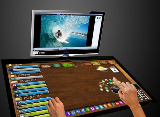 Viewsonic adelanta el futuro de las mesas táctiles  Digital AV