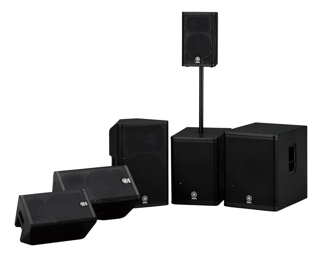 Yamaha lanza la nueva gama de mesas de mezclas mgp y los for Yamaha speakers system