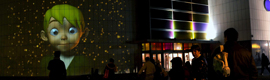 Un cuento de Navidad iluminó el centro comercial Vallsur de Valladolid