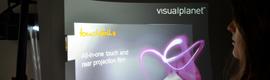 Visual Planet cambia el concepto de la señalización digital con su Touchfoil flexible