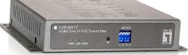 LevelOne dispone de una nueva unidad de transmisión y recepción HDMI sobre IP
