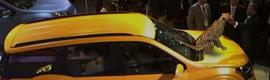Un guepardo virtual para promocionar el nuevo coche de la marca Mahindra