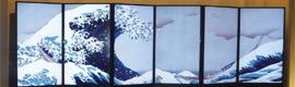 Matrox M9188 proporciona efectos visuales impresionantes en la primera pantalla de arte digital de Japón
