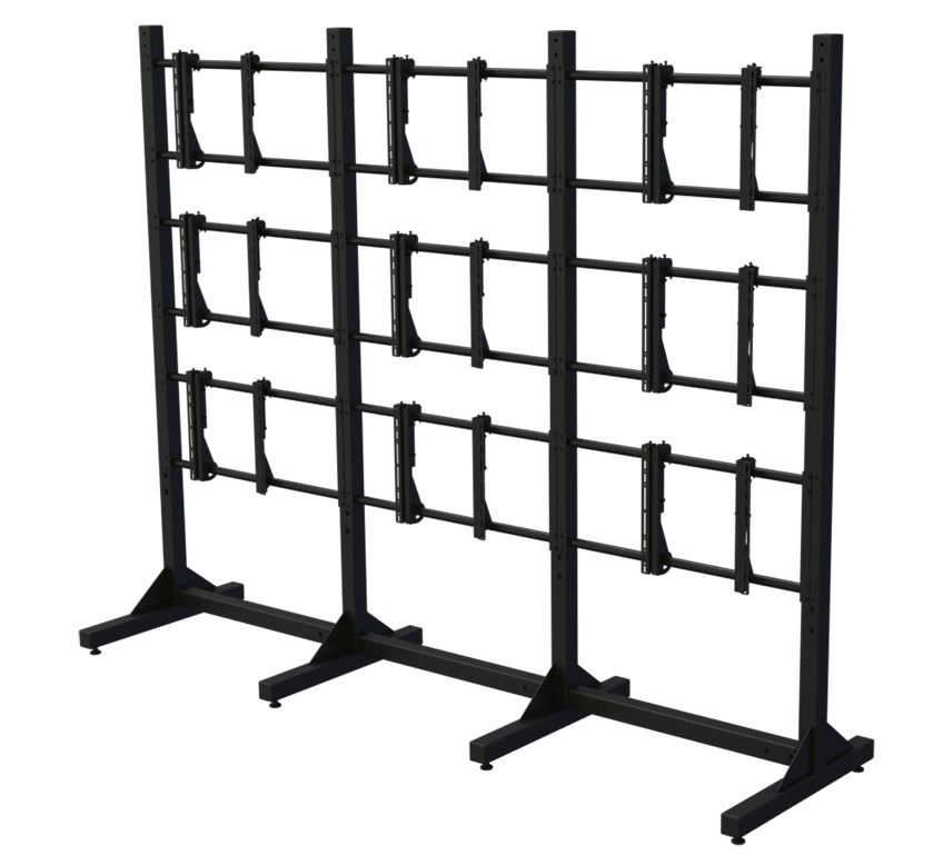 Premier Mounts introduces a new modular pedestal for video wall