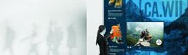 Prysm lanza soluciones interactivas con tecnología táctil y gestual