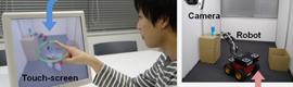 Touchme, nuevo sistema para el control de robots usando realidad aumentada