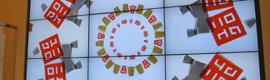 NEC proporciona un sistema de digital signage a las tiendas UNIQLO de Londres y París