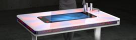 Pyramid exhibe en ISE 2012 una mesa de acción polytouch