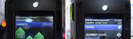 Londres estrena nuevos contenedores de reciclaje inteligentes con pantallas LCD