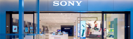 The stores of Sony are decanted by the technology of digital signage of SpinetiX
