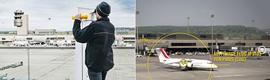 Crean una plataforma de observación interactiva en el aeropuerto de Zúrich