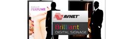 Avnet se vuelca en la señalización digital en displays