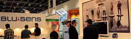 Blusens llevó a Cabsat 2012 su revolucionario sistema de señalización digital interactiva