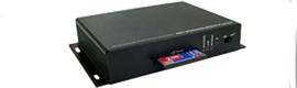 Caltron presenta el reproductor de digital signage en red MP-02V