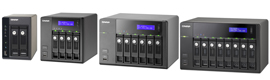 QNAP launches its new series of Turbo NAS TS - x 69 with Intel Atom processor