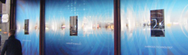 Harrods instala displays transparentes de Samsung en sus escaparates