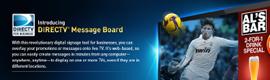 DIRECTV Message Board, un revolucionario servicio de digital signage para empresas