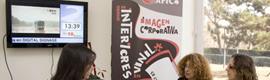 La franquicia Puzzle Rojo pone en marcha su marca exclusiva de cartelería digital